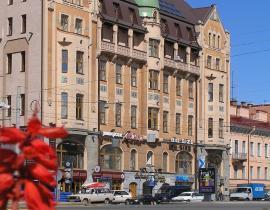 Hotel Dostojewski Fassade St. Petersburg