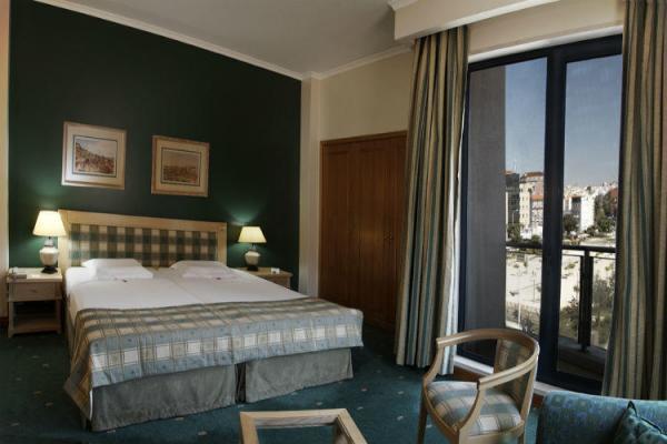 Doppelzimmer im Hotel Mundial Lissabon