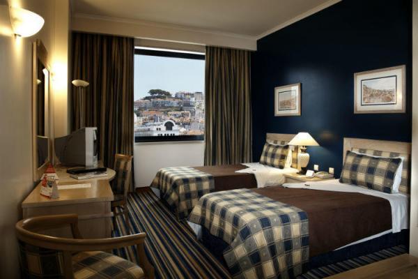 Twin-Bett-Zimmer im Hotel Mundial