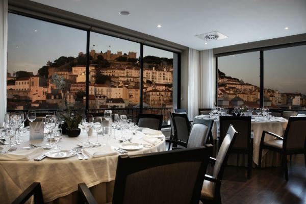 Restaurant im Hotel Mundial