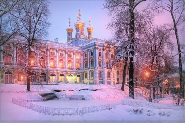 Katharinenpalast im Winter, St. Petersburg