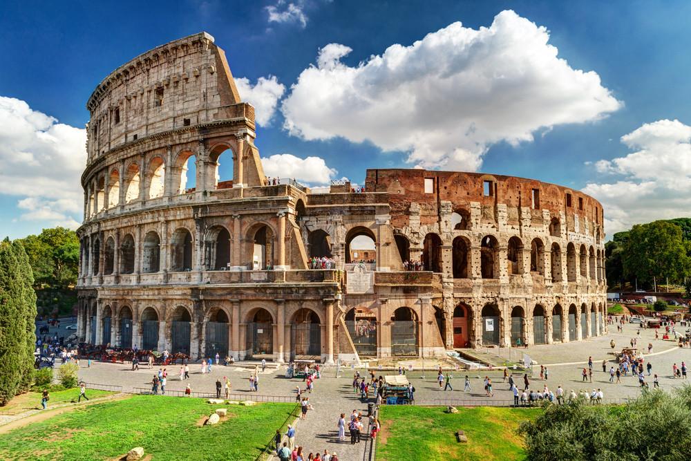 Rom, Kolosseum, gekauft über Shutterstock