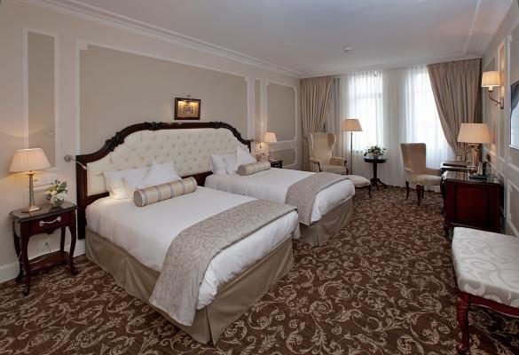Zweibettzimmer - Hotel Eremitage, St. Petersburg