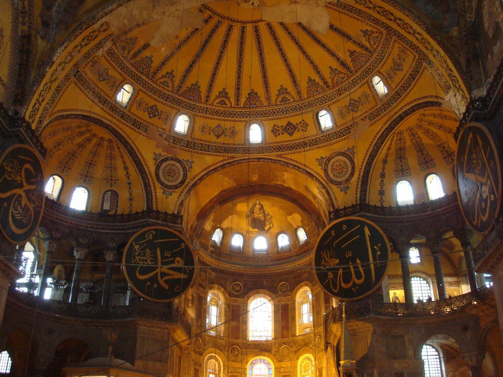 Moschee Hagia Sophia in Istanbul