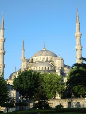 Blaue Moschee in Istanbul.