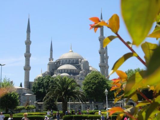 Istanbul Reisen - Blaue Moschee in Istanbul