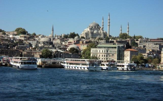Bosporus-Ufer in Istanbul