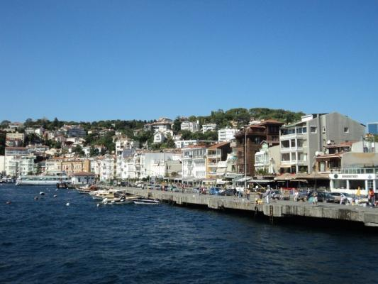 Bosporus Ufer in Istanbul