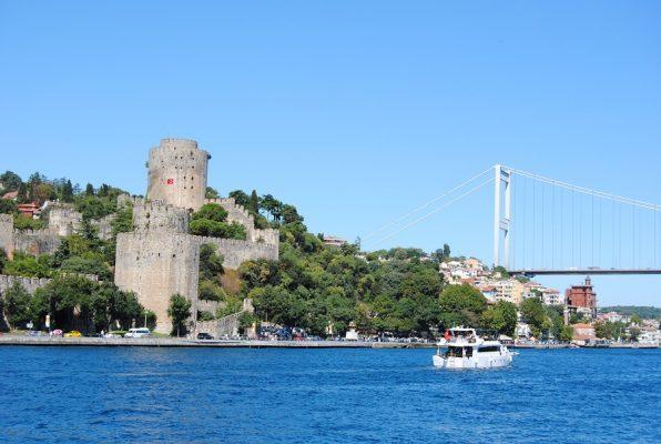 Bosporus Brücke in Istanbul