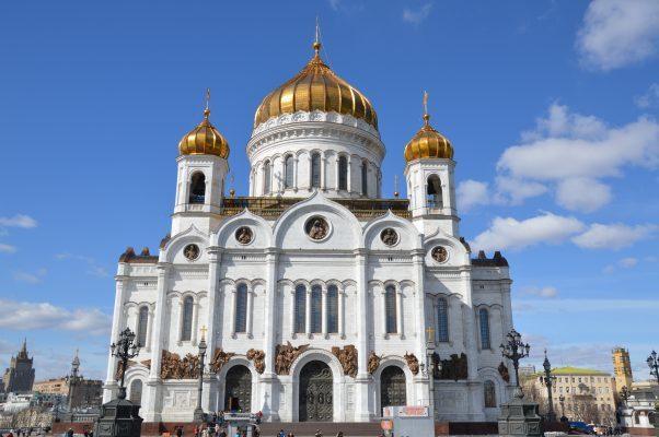Sehenswürdigkeiten in Moskau: Christi-Erlöserkirche in Moskau