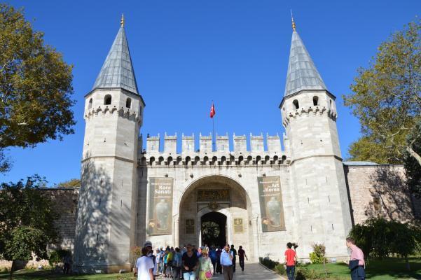 Topkai-Palast in Istanbul.