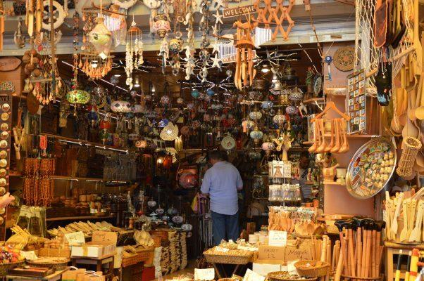 Türkischer Markt in Istanbul