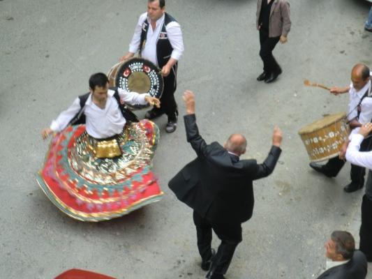 Derwisch-Tänzer in Istanbul