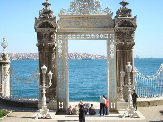 Dolmabahce-Palast in Istanbul.