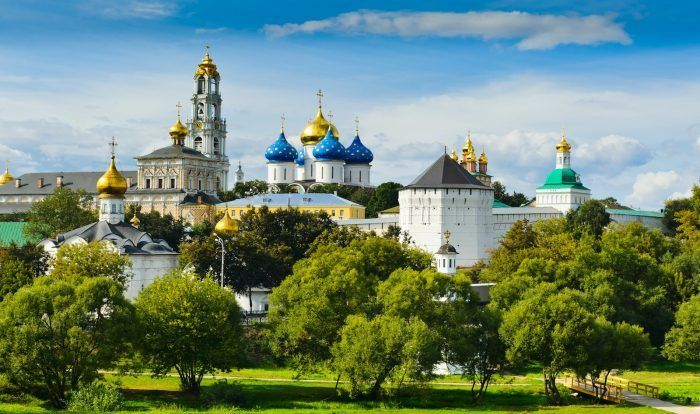 Reise nach Moskau, Dreifaltigkeigskloster Sergijew Possad