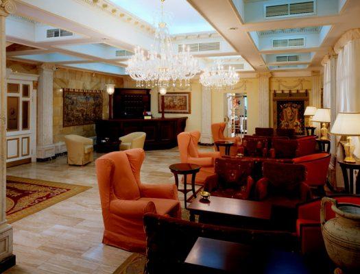 Hotel Golden Garden Lobby St. Petersburg