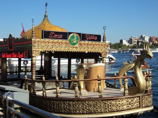 Boots-Fahrt auf dem Bosporus