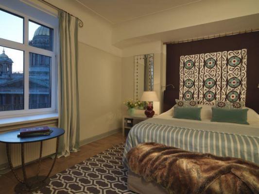 Schlafzimmer Suite im Hotel Astoria