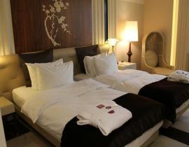 Doppelzimmer im Hotel Crowne Plaza Ligovsky St. Petersburg