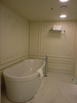 Badezimmer im Hotel Crowne Plaza St. Petersburg Ligovsky