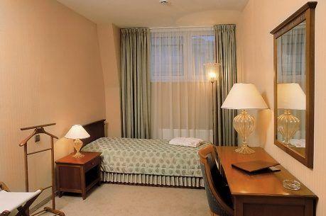 Einzelzimmer im Boutique-Hotel Golden Garden