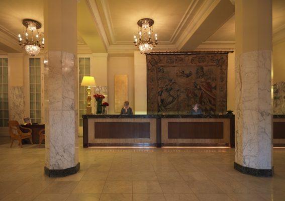 Hotel Astoria St. Petersburg Rezeption