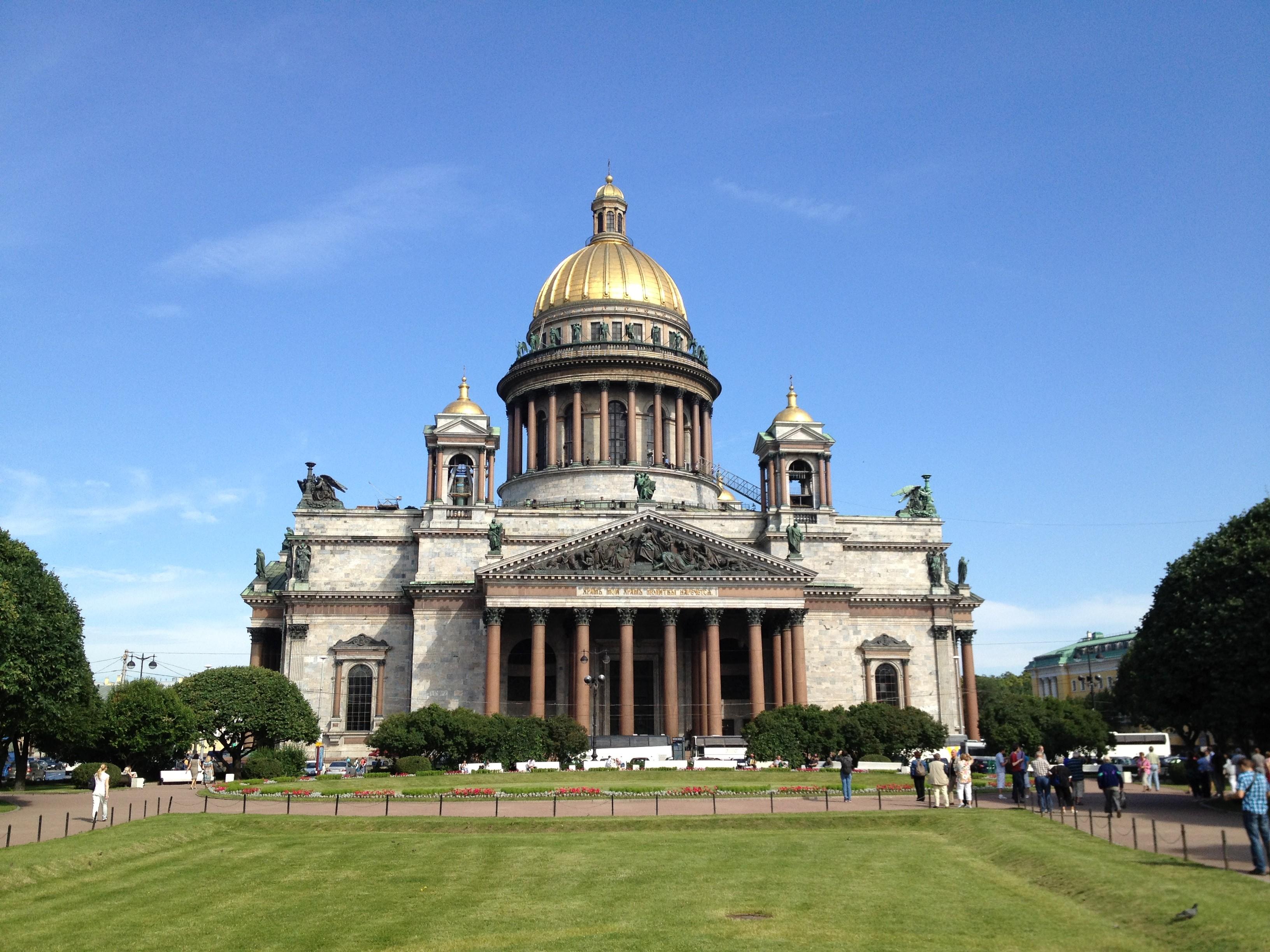 Isaak-Kathedrale in St. Petersburg