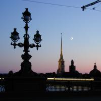 Weiße Nächte in St. Petersburg Peter-Paul-Festung