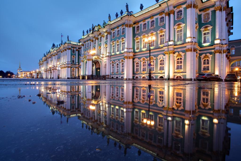 St. Petersburg; Eremitage. Foto: © Fotolia