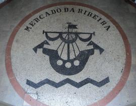 Mercado da Ribeira in Lissabon