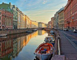 St. Petersburg: Kanal