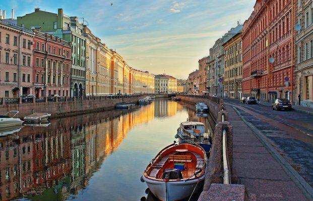 Kanal, St. Petersburg, Sankt Petersburg