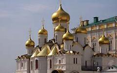 Kathedrale auf dem Kreml-Gelände, Moskau