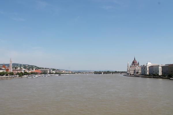 Donau Ufer in Budapest