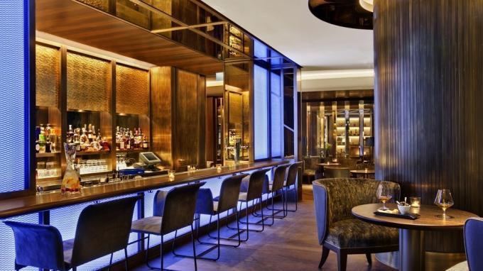 Bar Blue Fox im Hotel Kempinski Corvinus