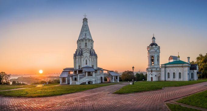 Urlaub in Moskau: Moskau Kolomenskoje