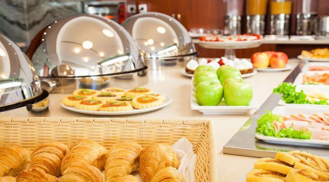 Frühstück - Hotel HF Fenix Garden, Lissabon
