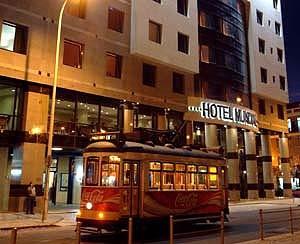 Das Hotel Mundial im Herzen der Altstadt von Lissabon.