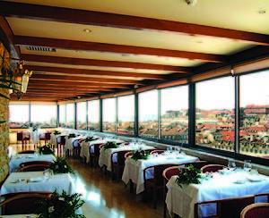 Das Restaurant im Hotel Mundial in Lissabon