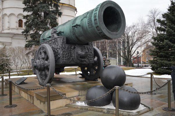 Zarenkanone auf dem Kremlgelände