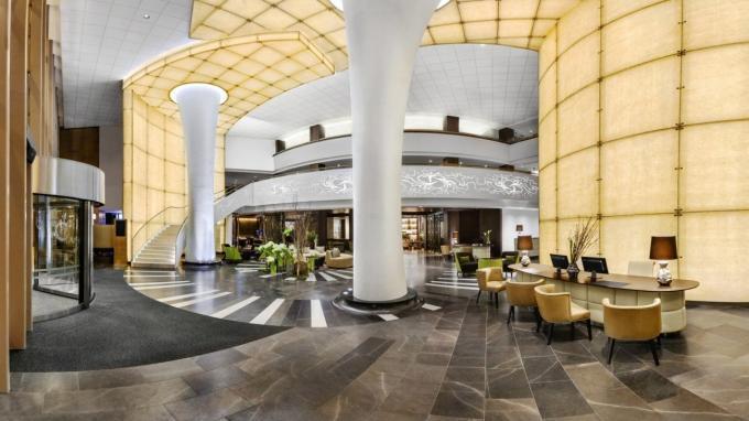 Lobby im Hotel Kempinski Corvinus