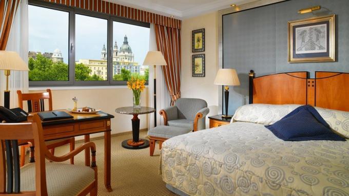 Superior Doppelzimmer im Hotel Kempinski Corvinus