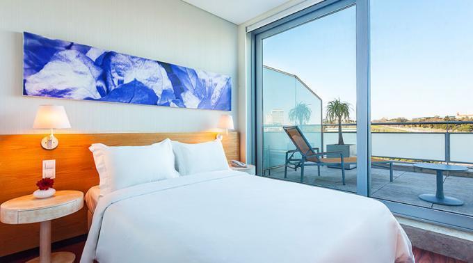 Doppelzimmer - Hotel HF Fenix Garden, Lissabon