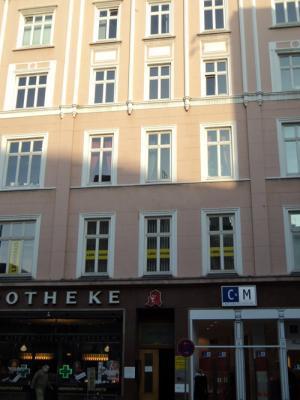 Fassade vom Büro