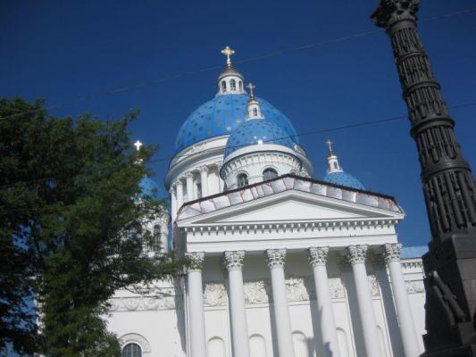 Kunden fotografieren: Dreifaltigkeitskathedrale, St. Petersburg