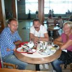 Reisegruppe und Geschäftsführer Alexander Kudriavtsev in Moskau