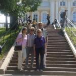Reisegruppe in Peterhof