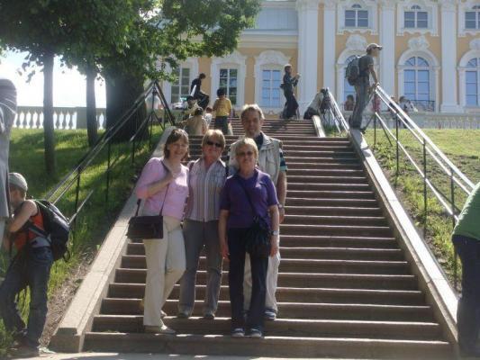 AL.EX Reisegruppe in Peterhof