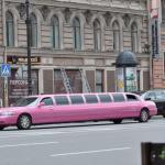 Pinke Limousine in St. Petersburg
