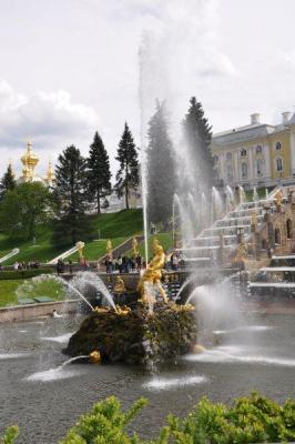 Wasserspiele in Peterhof